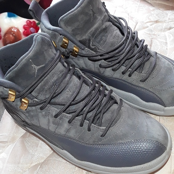 half off 87a8a 0d04a Jordan retro 12 dark grey